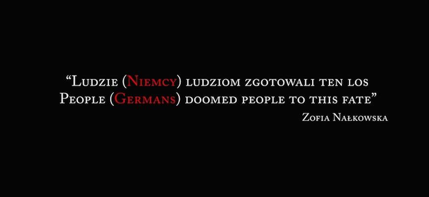 IPN zniekształcił znany cytat Zofii Nałkowskiej w 76. rocznicę powstania w getcie warszawskim