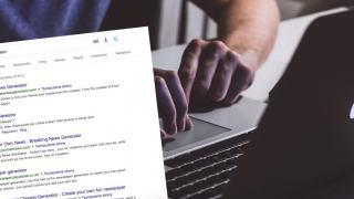 Generatory fake newsów zdobywają coraz większą popularność
