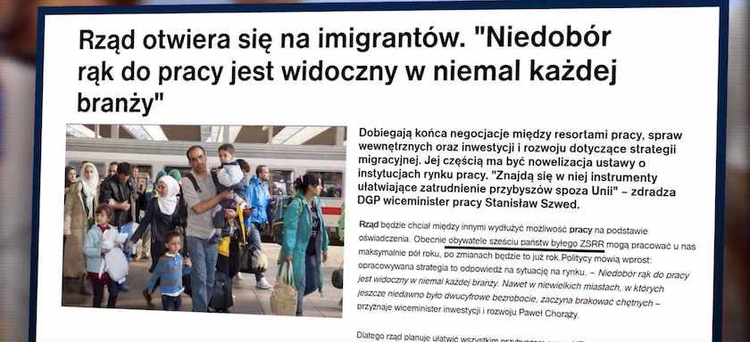 Spot Konfederacji sugeruje, że do Polski przybywają głównie imigranci wyznający islam. Nie potwierdzają tego statystyki