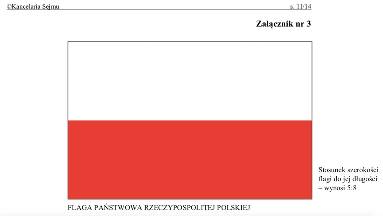Polska flaga zmieni barwy? Nieporozumienia wokół prac Ministerstwa Kultury nad ustawą o symbolach państwowych