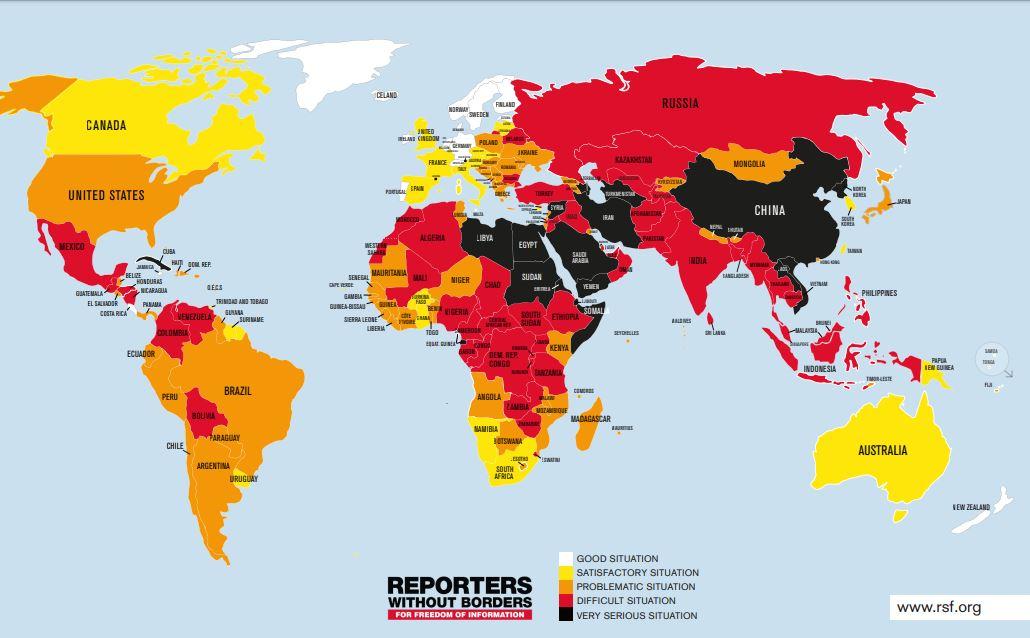 Wolność mediów w Polsce. Według organizacji Reporterzy bez Granic sytuacja w kraju niezmiennie się pogarsza
