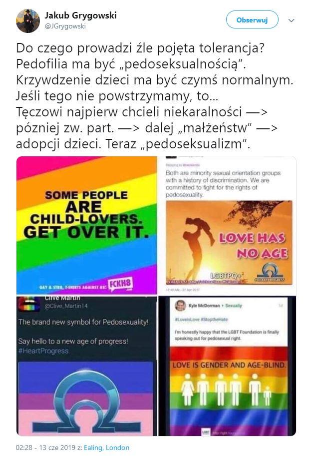 Grupa obrońców pedofilii, która nie istnieje. Trolle ukryte za ruchem LGBTP