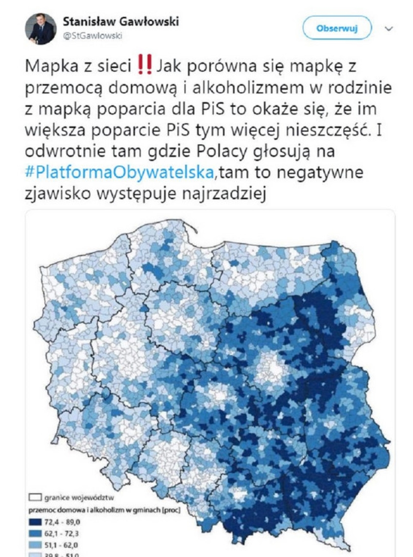 Stanisław Gawłowski z PO przeprosił za powielenie fake newsa na swym koncie na Facebooku