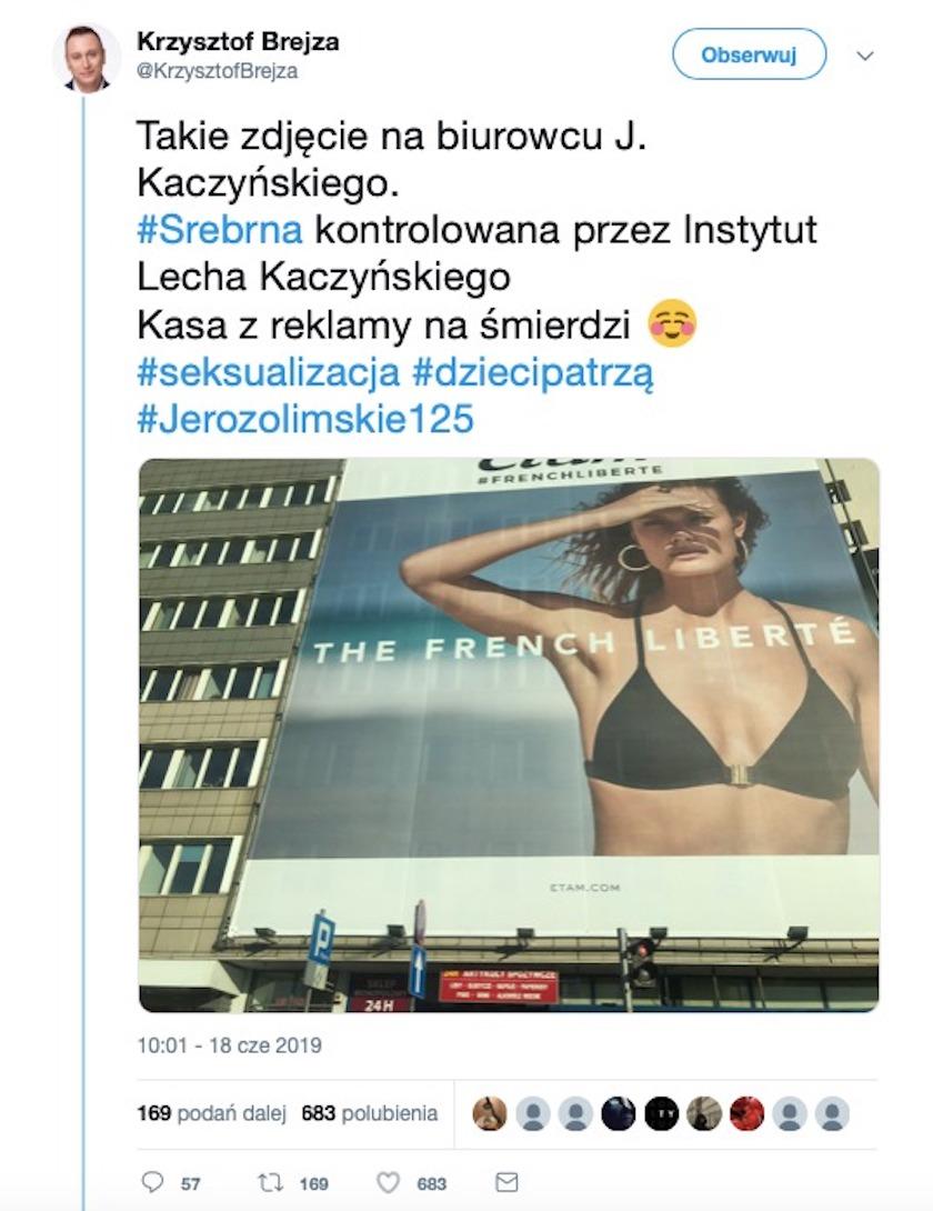 Krzysztof Brejza zażartował z PiS