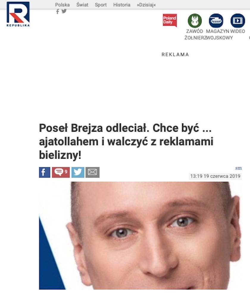 Krzysztof Brejza źle zrozumiany