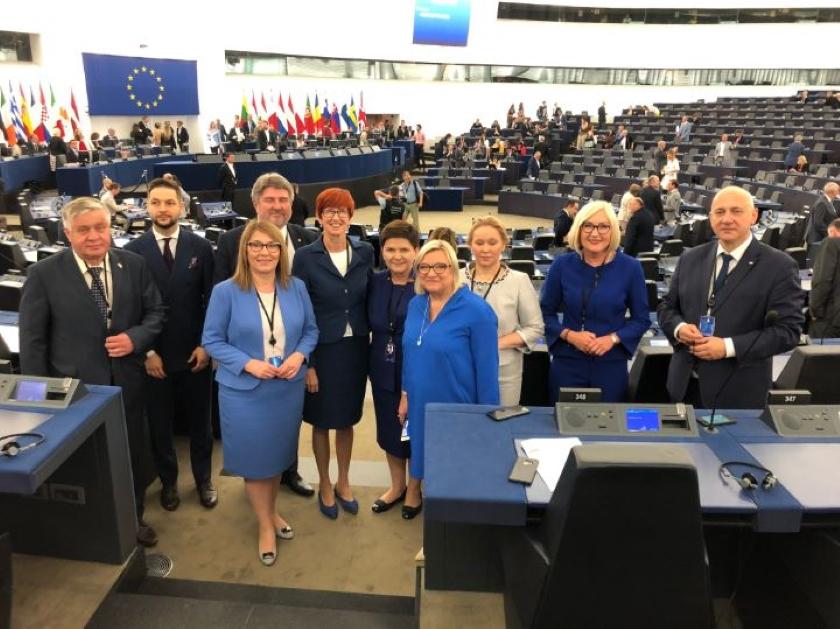Parlament Europejski miejscem pracy polskich deputowanych