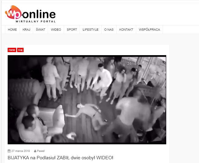 Krótka historia nagrania bijatyki na Podlasiu, która nigdy nie miała miejsca