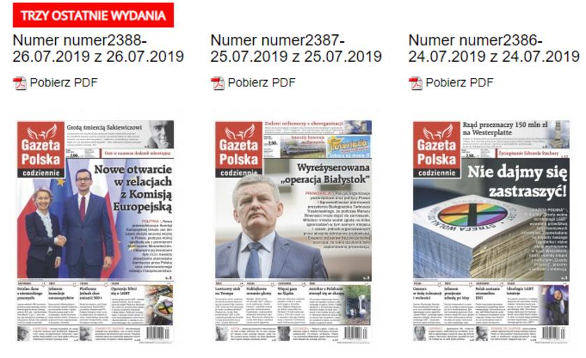 Gazeta Polska obwiniła o akty agresji w Białymstoku prezydenta miasta. Na okładce pomylono go z innym politykiem