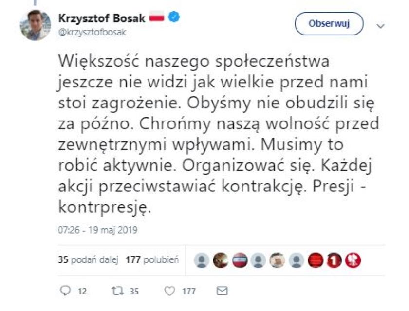 Tomasz Lis udostępnił fake'a