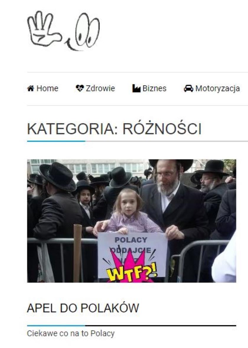 Publiszer udostępnił zmanipulowaną wersję zdjęcia ortodoksyjnych Żydów. Autor stwierdził, że to tylko żarty