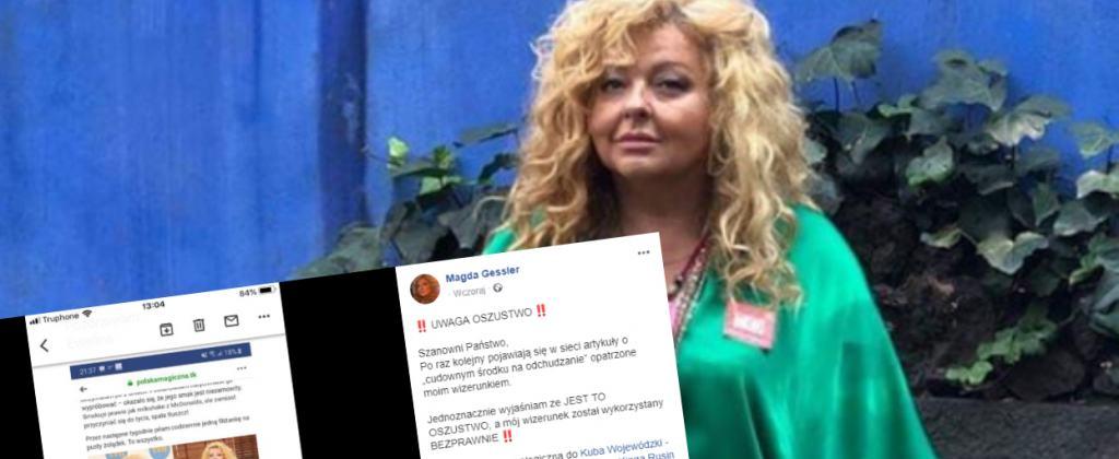 Magda Gessler ostrzega fanów. Mogli paść ofiarą internetowego oszustwa