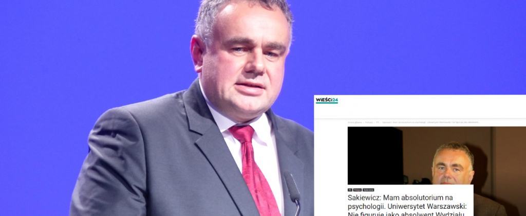 Kontrowersje wokół wykształcenia Tomasza Sakiewicza. Dziennikarze zarzucili mu kłamstwo. Słusznie?