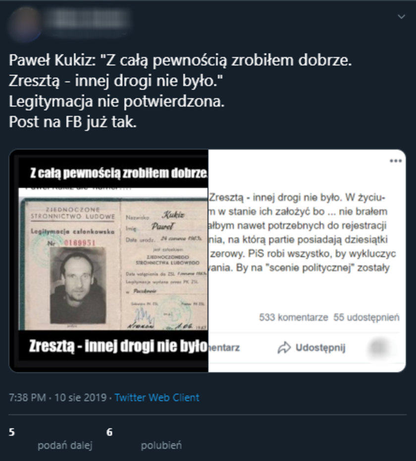 Paweł Kukiz ZSL