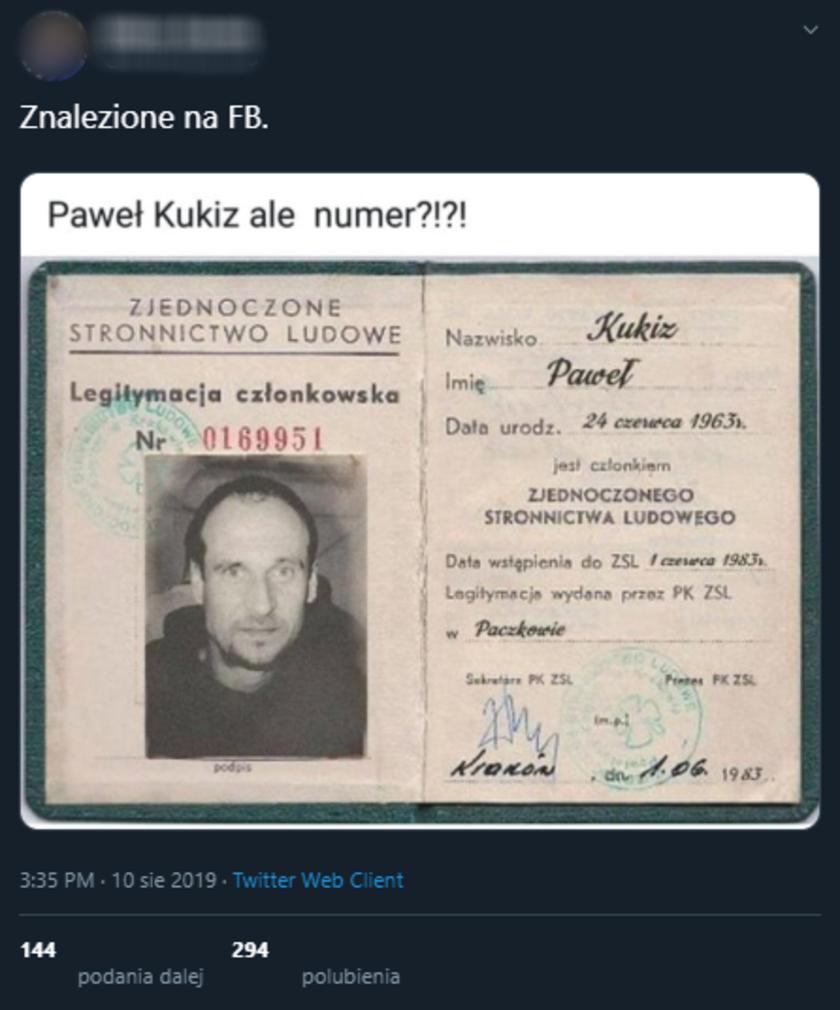 Paweł Kukiz PSL