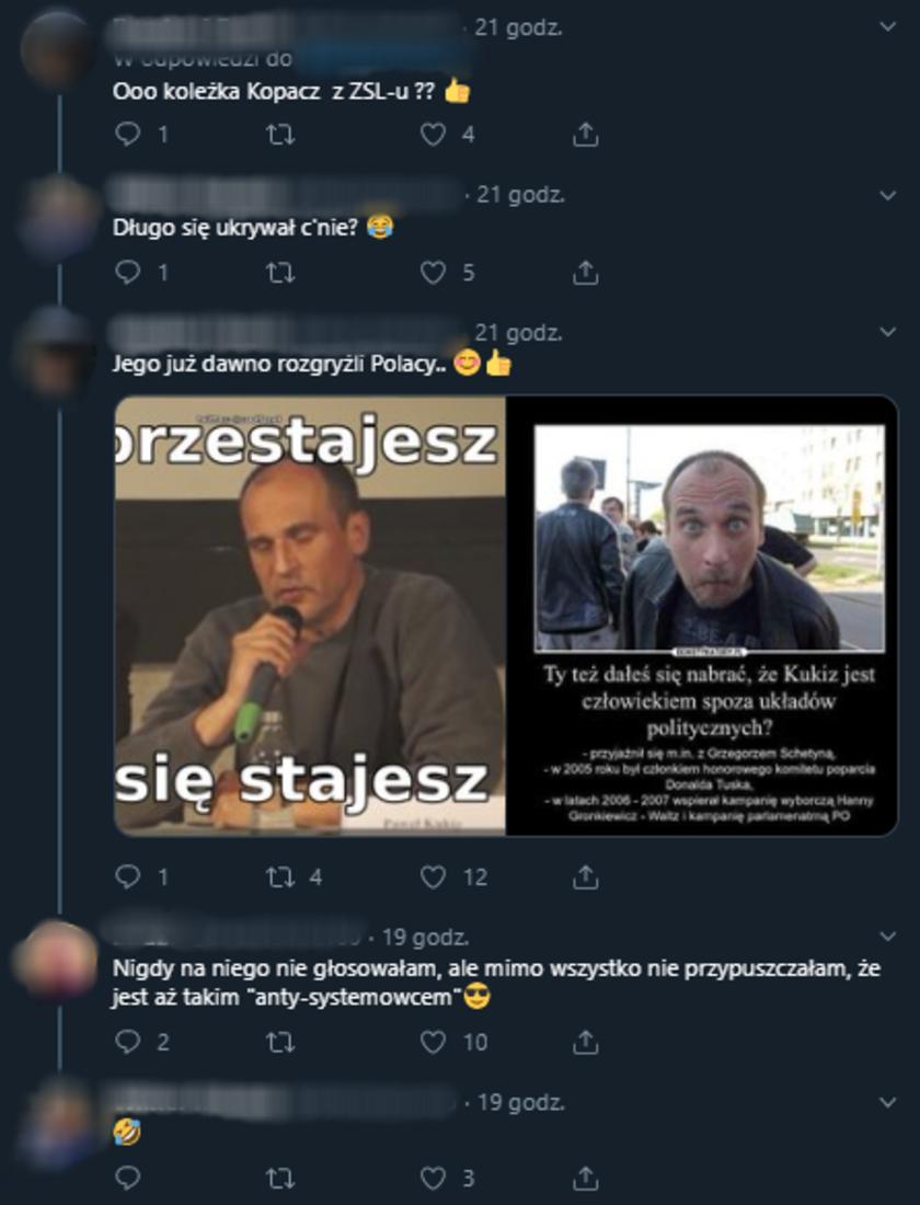 Paweł Kukiz komentarze