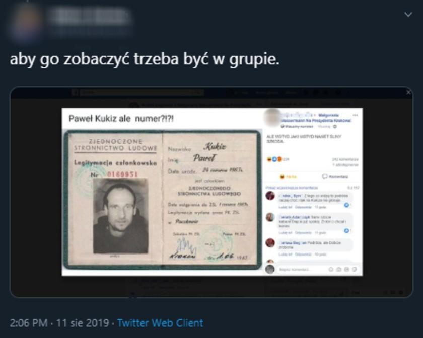 Paweł Kukiz Facebook