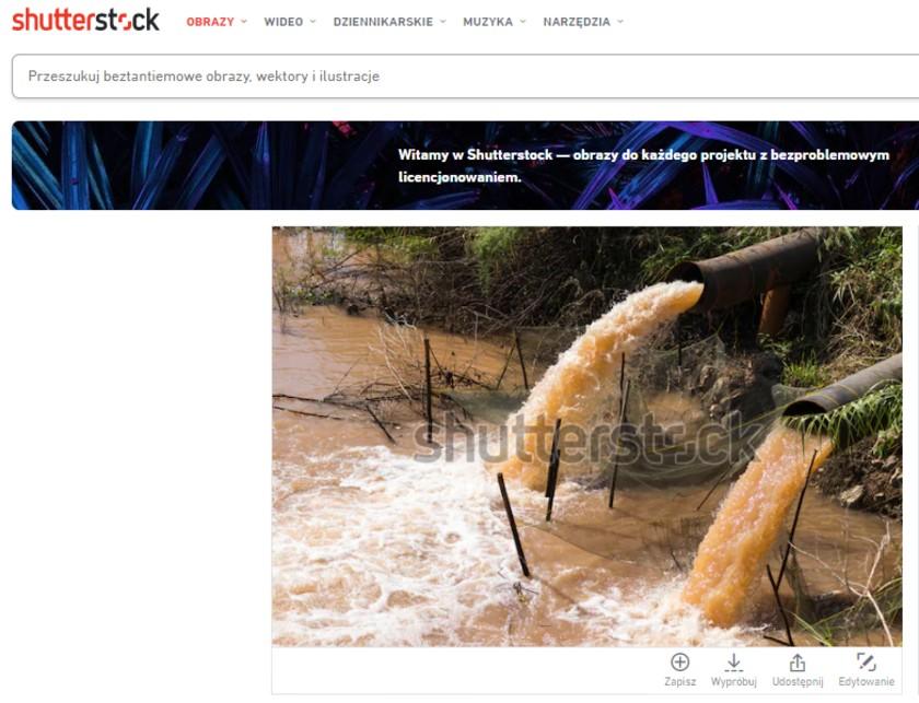 Afera ściekowa stockowe zdjęcia