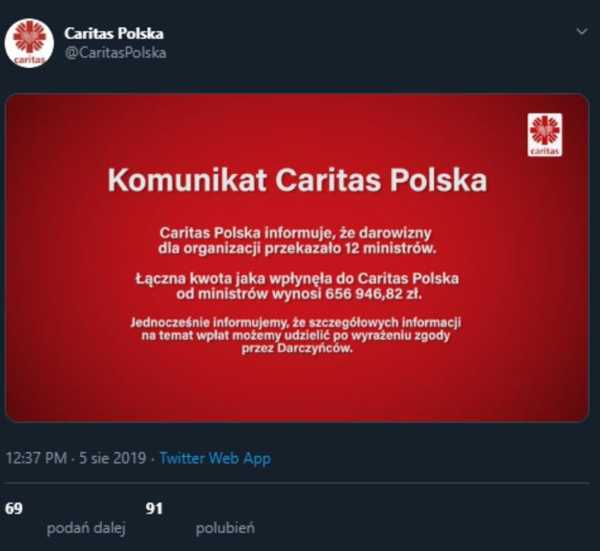 Beata Szydło nie dopilnowała ministrów