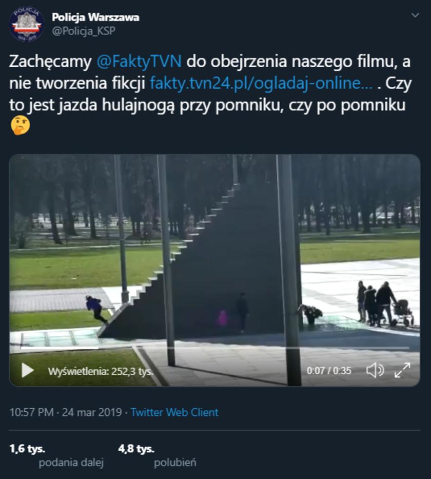 Fake newsy TVN: hulajnogi