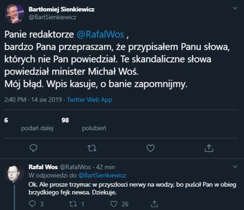 MSWiA: błąd byłego ministra