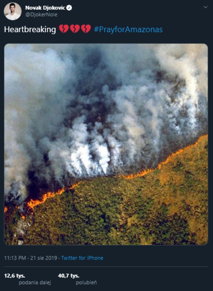 Pożary lasów w Amazonii się rozprzestrzeniają