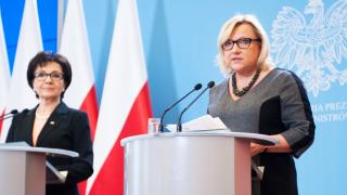 Beata Kempa obiecała pomoc w transporcie darów dla uchodźców