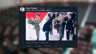 Jarosław Kaczyński i Andrzej Duda na zdjęciu z Sejmu