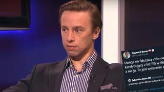 Krzysztof Bosak wystartuje w wyborach parlamentarnych