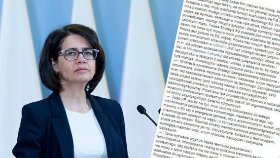 Anna Streżyńska o sieci 5G