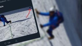 B. francuski minister pokazał zdjęcie ze wspinaczki w Alpach, media oskarżyły go o graficzną przeróbkę