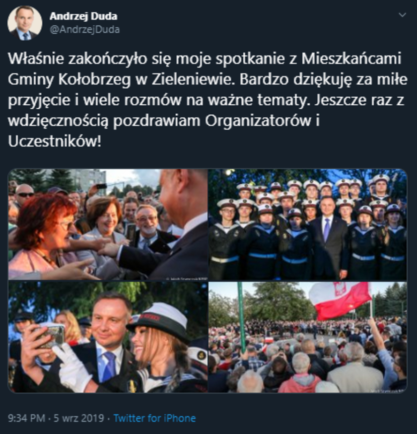 Andrzej Duda Koszalin