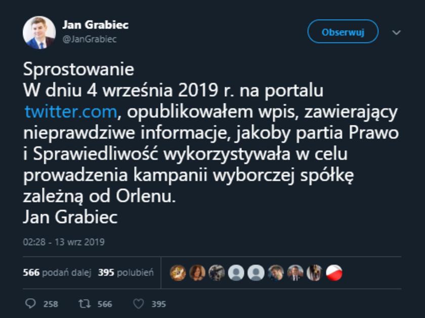 Cysterny wstydu Jan Grabiec