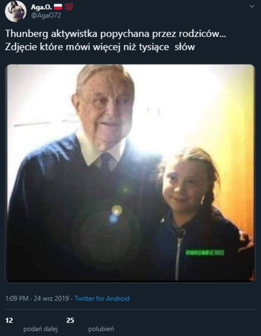 Greta Thunberg fake