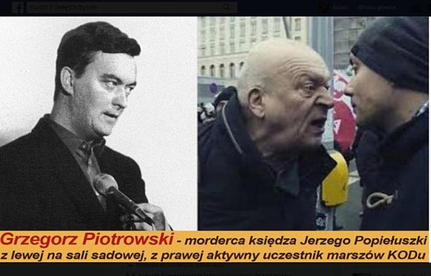 Jerzy Popiełuszko fake