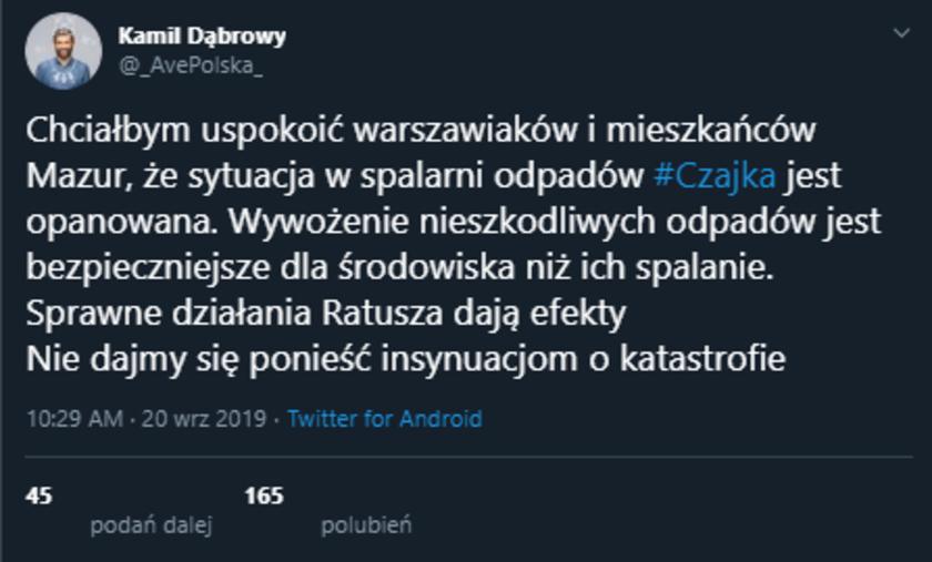Kamil Dąbrowa fejk