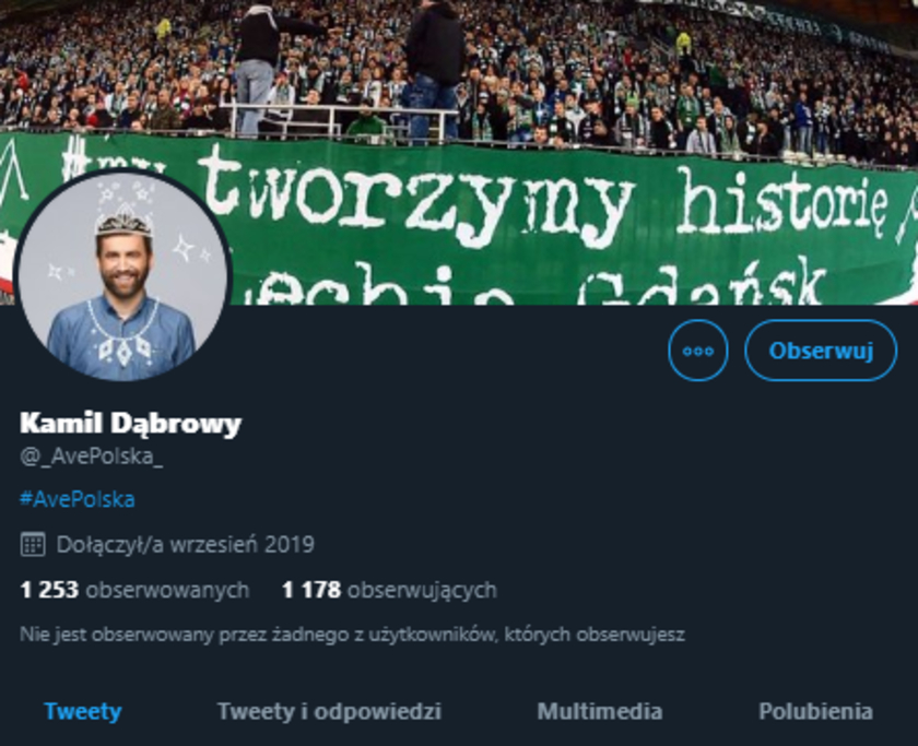 Kamil Dąbrowa fake