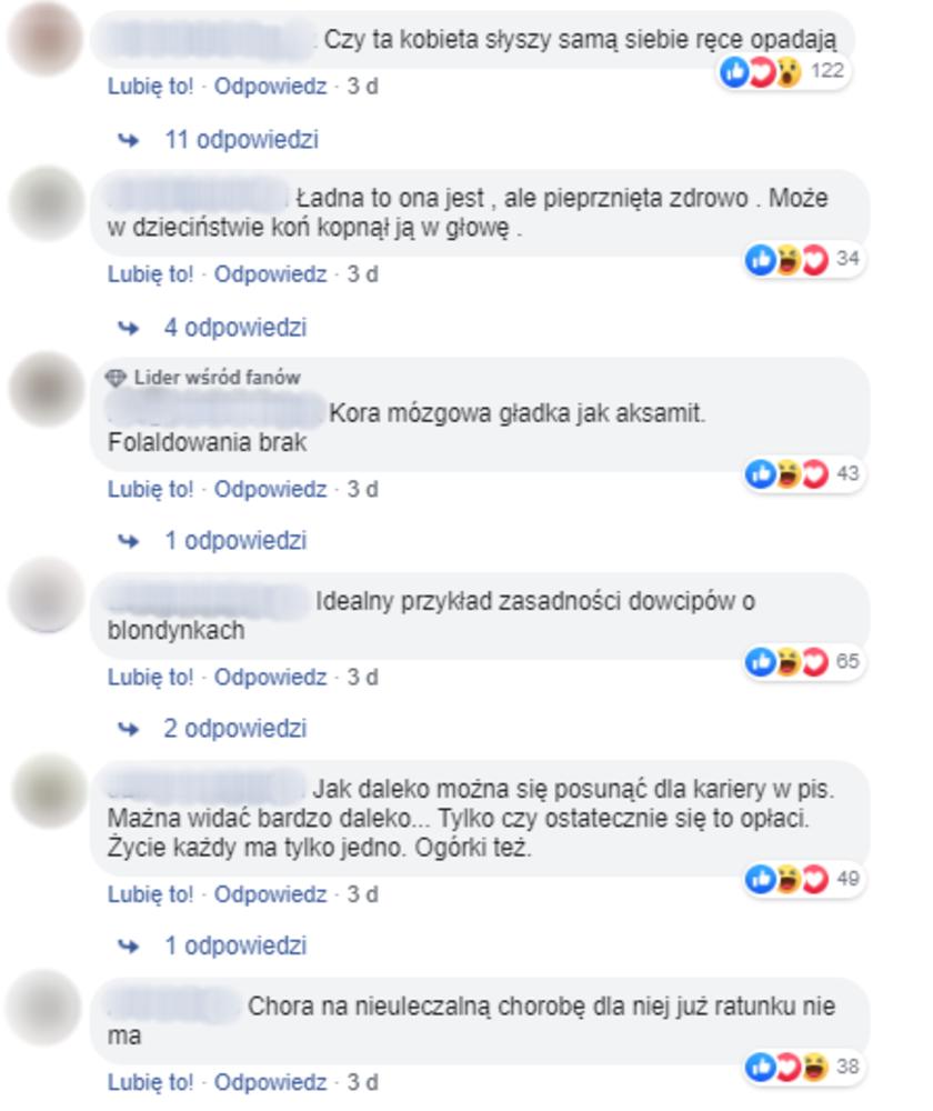 Magdalena Ogórek komentarze