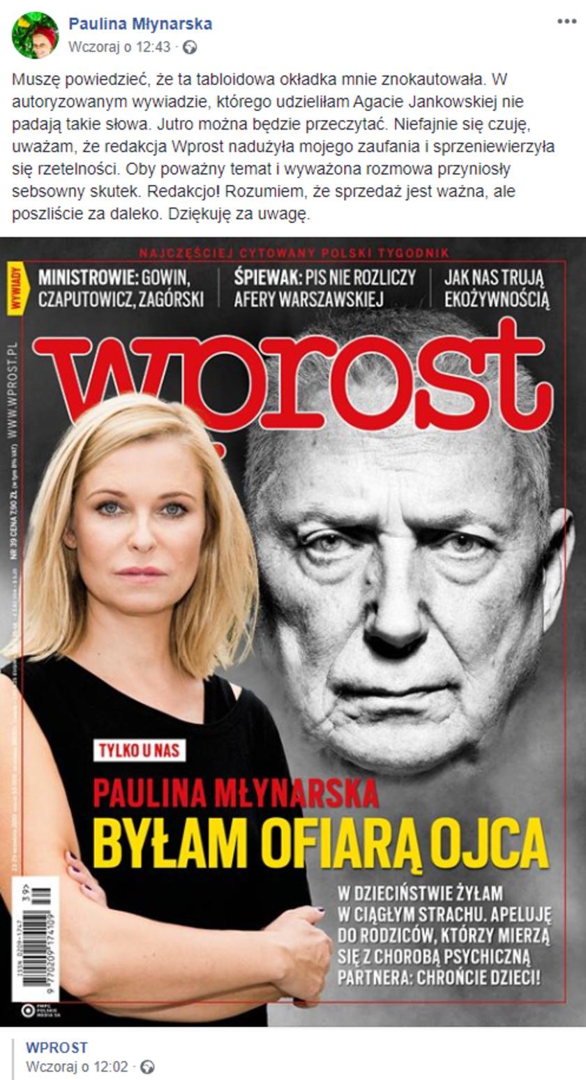 Paulina Młynarska Wprost