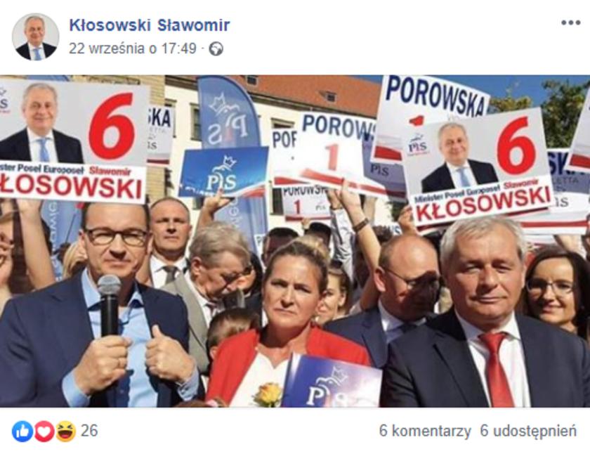 Sławomir Kłosowski Facebook