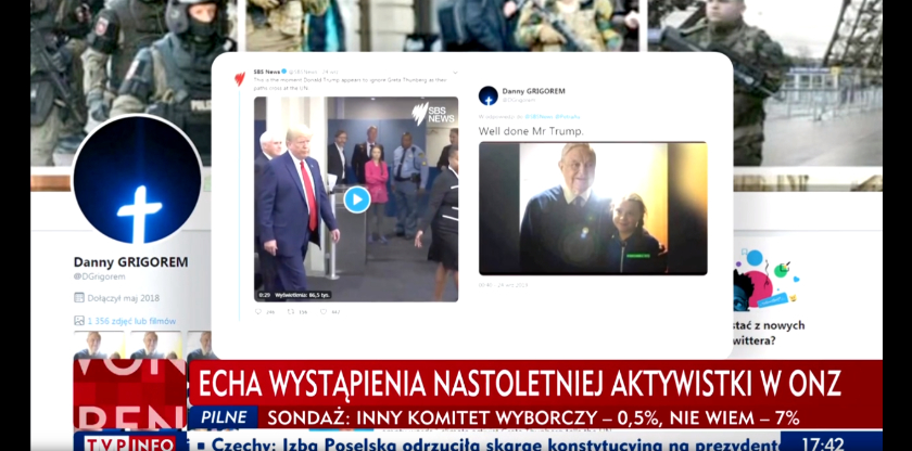 TVP Info Greta Thunberg