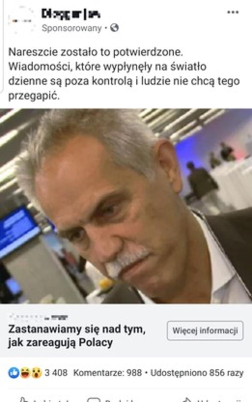 Zygmunt Solorz-Żak Facebook