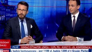 Dariusz Klimczak TVP Info