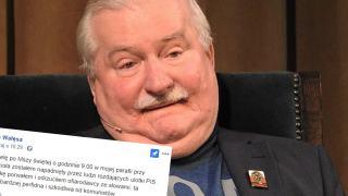 Lech Wałęsa napadnięty