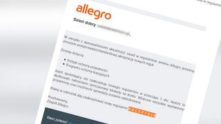 Allegro ostrzega przed oszustami