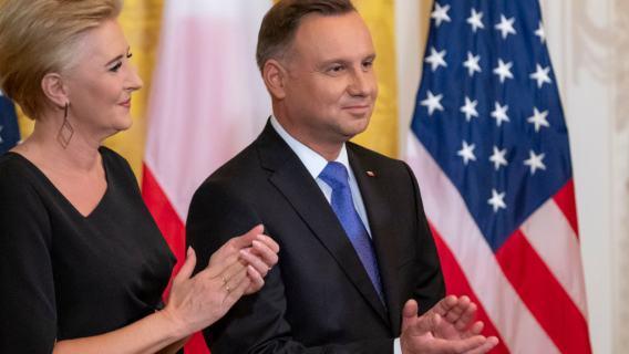 Andrzej Duda Agata Duda
