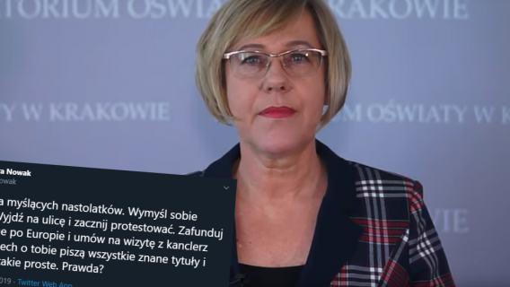 Barbara Nowak Greta Thunberg