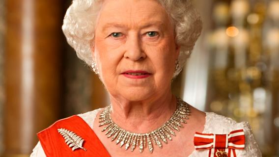 Elżbieta II ręka