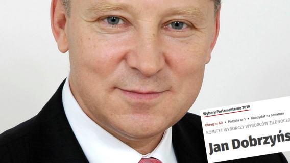 Jan Dobrzyński Zjednoczona Prawica