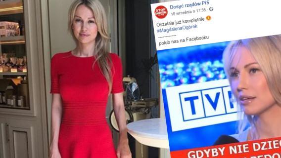 Magdalena Ogórek fake