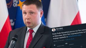 Poseł PO udostępnił nieprawdziwy cytat Piotra Glińskiego. Wpis zniknął już z Twittera